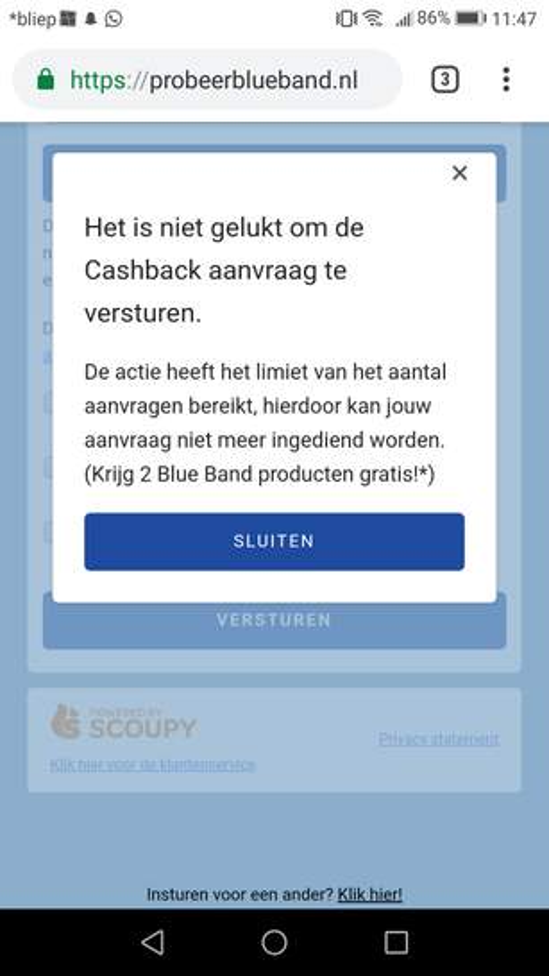 28d9bdf0f3f3f1 Cashback Blue Band Finesse voor Koken EN Blue Band Net zo lekker als ...