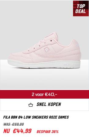 2 paar FILA sneakers voor 40 euro