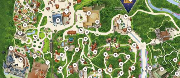 efteling park kaart