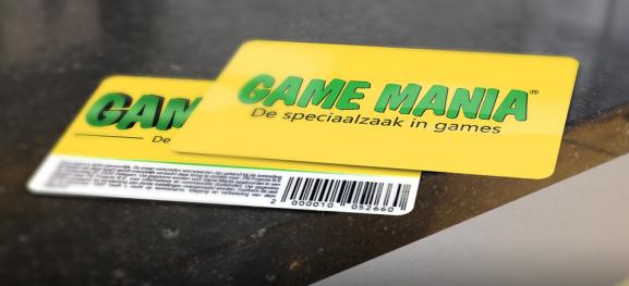game mania klantenkaart