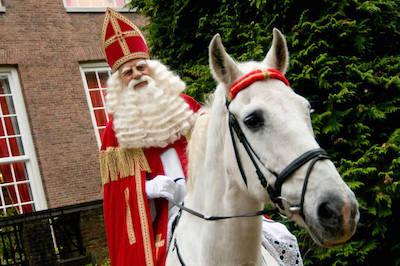 Sinterklaas Sint paard
