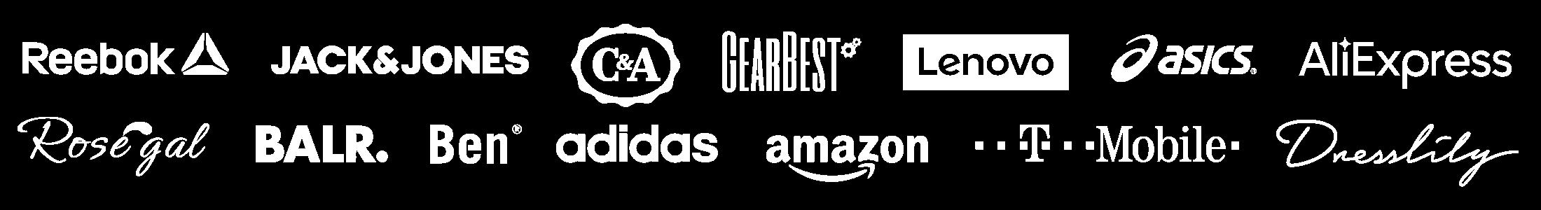 Winkel-logo's voor Black Friday 2019
