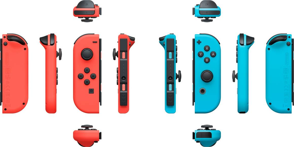 Nintendo Switch Controllers 3