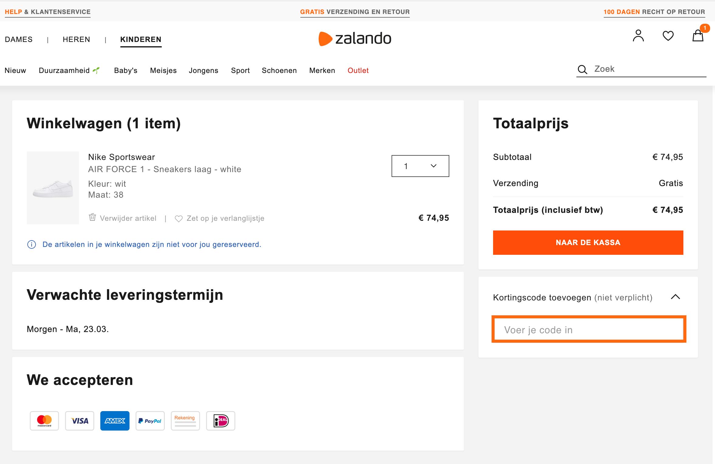 Zalando kortingscode ⇒ Krijg 70% korting, juli 2020