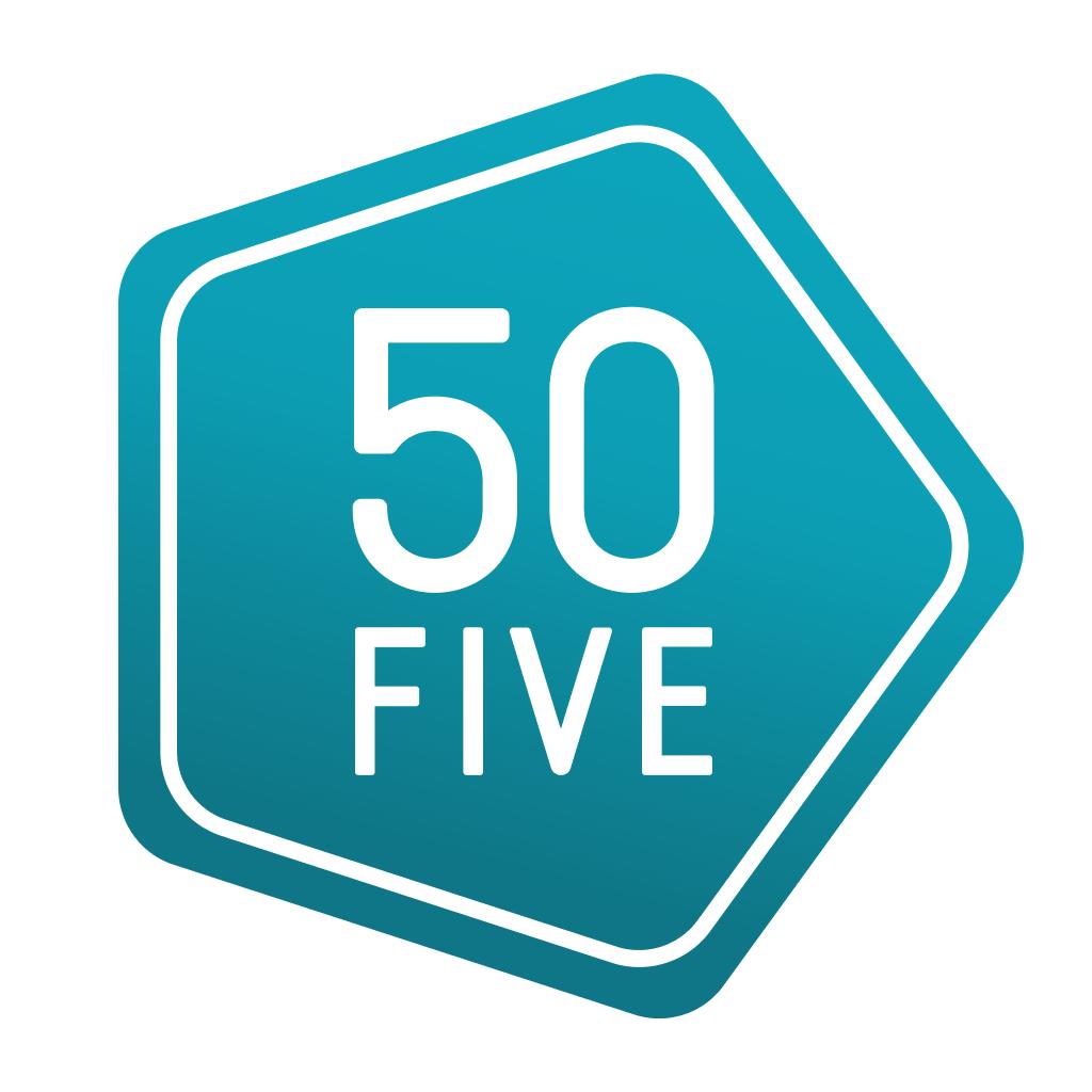 15% korting op alles door kortingscode @ 50five