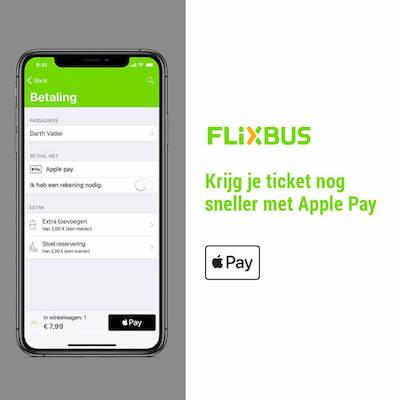 Flixbus betalen
