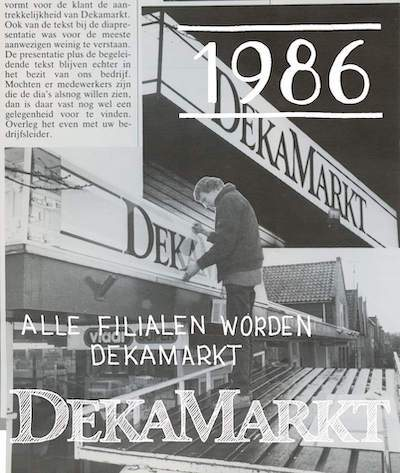 Dekamarkt geschiedenis