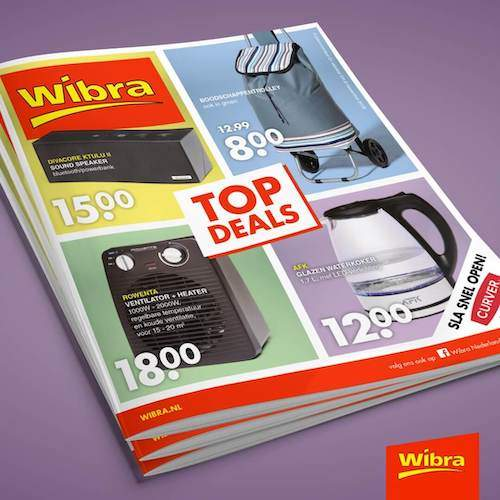 Wibra folder Wibra acties