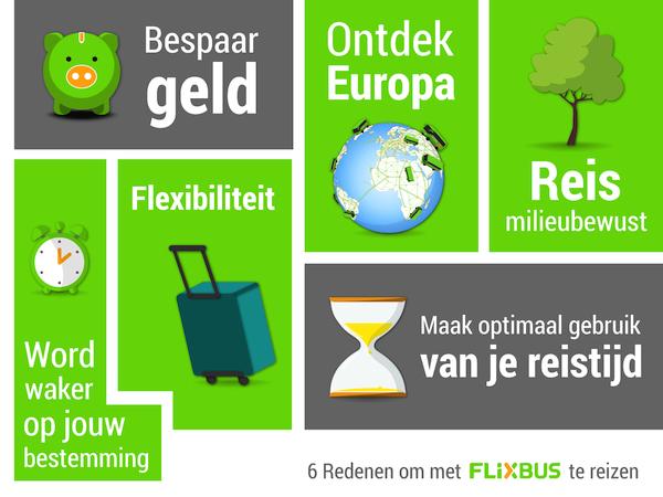 Flixbus voordelen