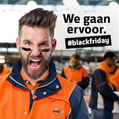 PostNL Black Friday