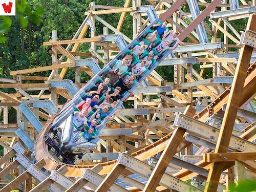 Walibi attracties