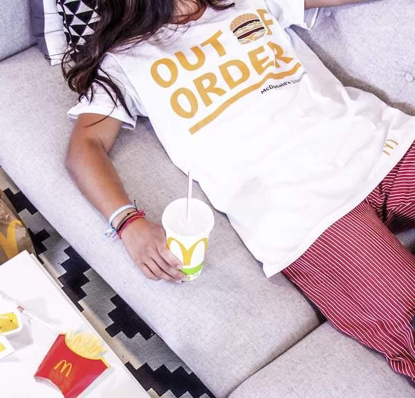 McDonalds bestellen Uber Eats