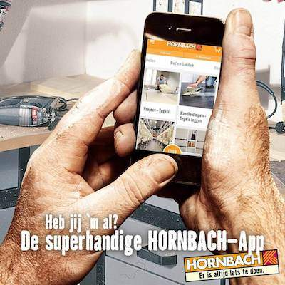 Hornbach app