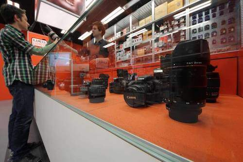 Kamera Express fototoestellen