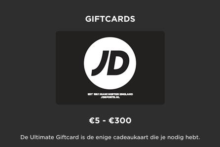 JD sports gift card