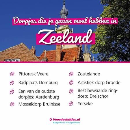 Voordeeluitjes Zeeland