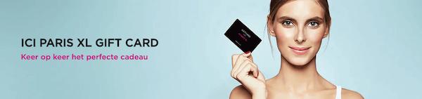 Ici Paris XL giftcard