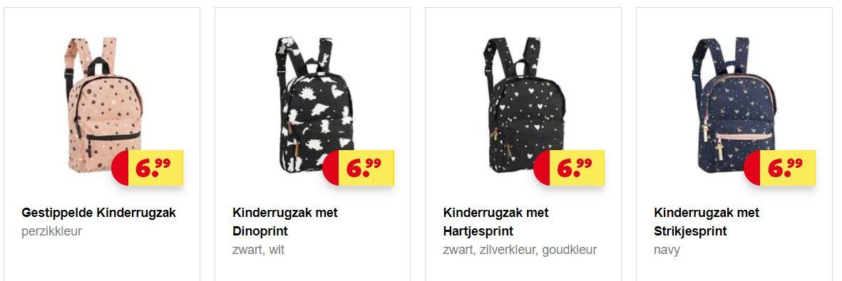 a0822bd69c8 Nu bij Kruidvat: kinderrugzakken met leuke prints. Keuze uit 6  verschillende voor jongens en meisjes. De rugzak heeft een handig voorvak  en verstelbare ...