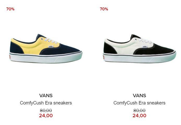 Vans Comfycrush Era heren sneakers 70% @ Hudson's Bay