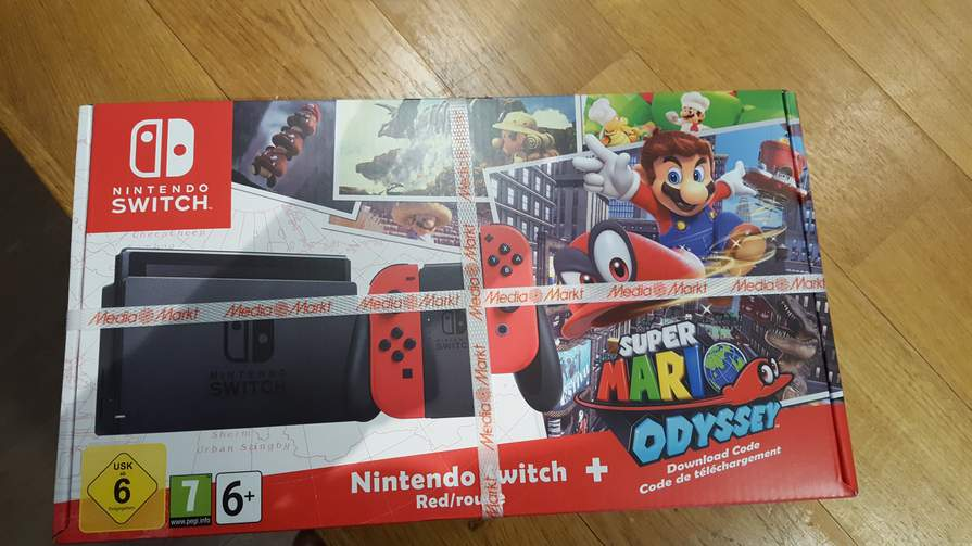 Nintendo Switch Mario Odyssey Bundle At Mediamarkt Peppercom