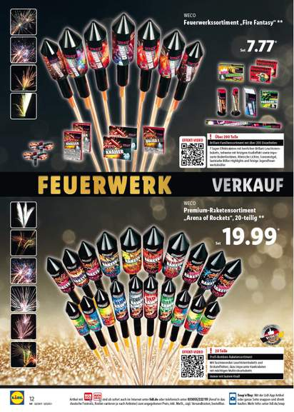 vuurwerk aanbieding lidl aldi etc duitsland grensdeal. Black Bedroom Furniture Sets. Home Design Ideas