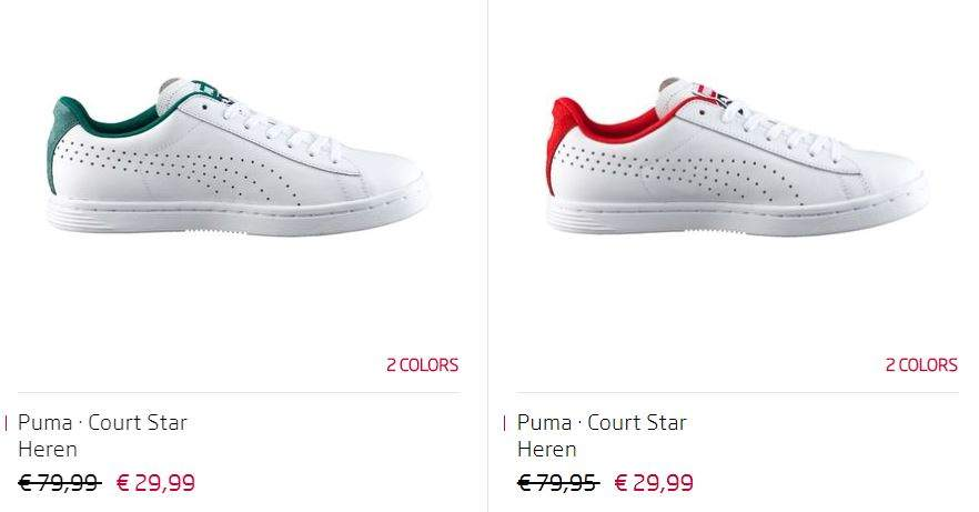 Athlete's Sneakers The Leren Star Puma Foot Court 62 wtqOaqfY