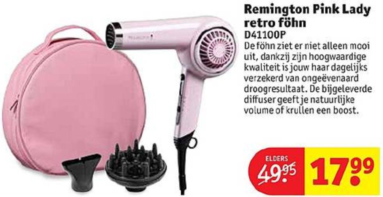 Remington Pink Lady Retro Föhn (i.p.v. €49 f55d8967a9