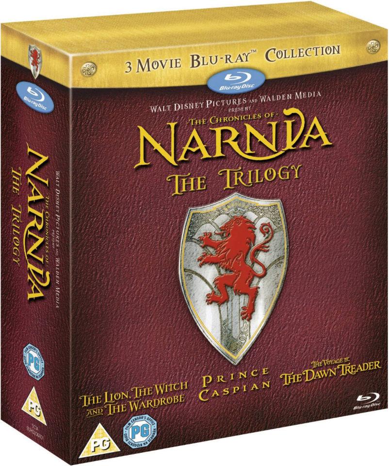 The Chronicles Of Narnia Trilogie (Blu-ray) boxset voor € 11,50 @ Zavvi
