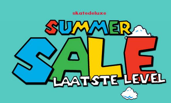 SUMMERSALE met tot 84% korting @ Skatedeluxe - €4,95 verzendkosten