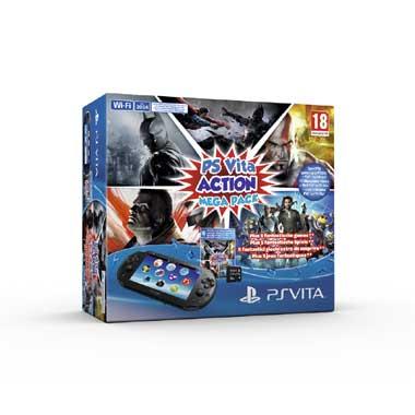 Playstation Vita Slim Console WiFi + 8 GB + Action Mega Pack voor € 178 @ Bart Smit