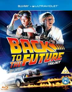Back to the Future Trilogie (Blu-ray) voor € 12,06 @ Zavvi