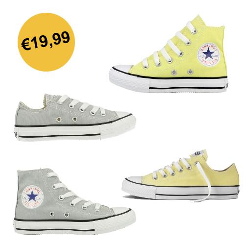 Diverse kids Converse All Stars €19,99 @ Brand4Less + €3,99 verzenden