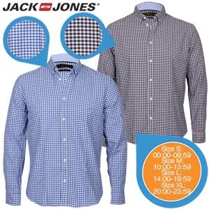 2 Jack & Jones overhemden voor € 30,90 @ iBOOD