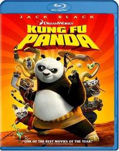 Kung Fu Panda (Blu-ray) voor € 3,73 @ WOW HD