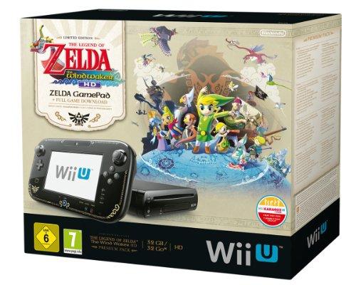Wii U Premium Zelda The Windwaker HD bundel voor € 253,18 @ Amazon.de