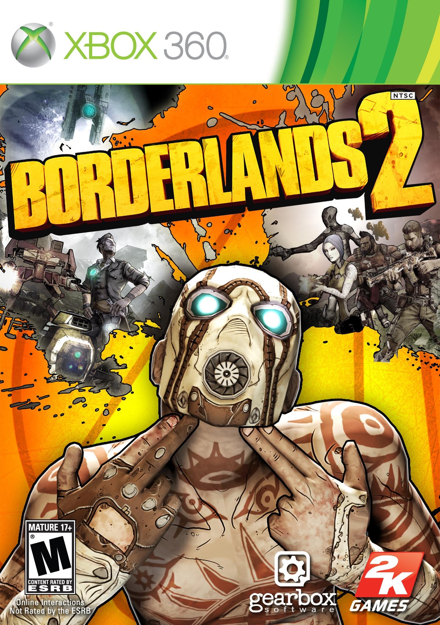 Borderlands 2 (360) voor €3,40 @ GameDealDaily