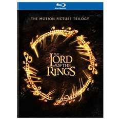 Lord of the Rings trilogie op Blu-ray voor €9