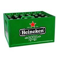 Krat Heineken bier voor € 9,49 @ AH