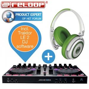 Reloop Jockey 3 Remix  MIDI-controller + Reloop RHP-5 koptelefoon voor €286,90 @ iBOOD