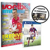 Halfjaar Voetbal International + FIFA 15 (PS4, PS3, Xbox 360 of PC) voor € 63,99