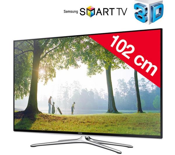 Samsung UE40H6200AW 3D Smart-TV voor € 457,98 @ Pixmania