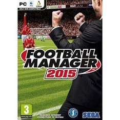 Football Manager 2015 (pre-order) (PC) (Steam) voor € 24,95 @ CDKeys