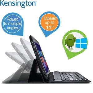 Kensington KeyFolio Expert Android / Windows toetsenbord voor € 31,90 @ iBOOD