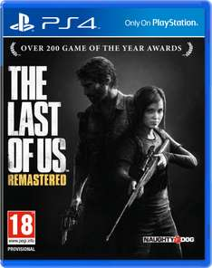The Last of Us  Remastered (PS4-game) voor €44 @ Zavvi
