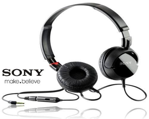 Sony MK200 Stereo Headset Black voor € 14,97 @ MobielBereikbaar