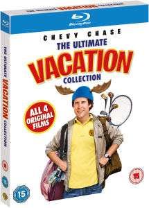 National Lampoon's Vacation  Blu-ray boxset - 4 films voor €12,59 @ Zavvi