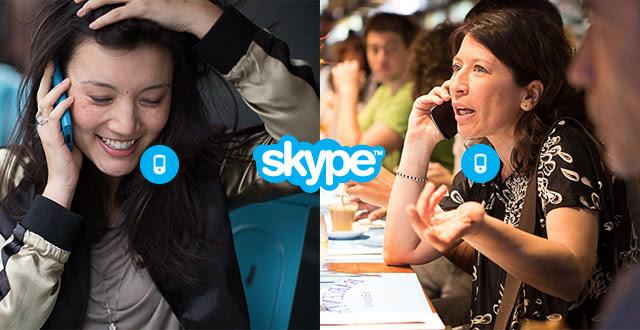 Bel een maand lang gratis naar mobiele en vaste nummers @ Skype