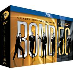 James Bond - 50th Anniversary Collection (Blu-ray) voor € 124,99 @ Mega Movie Store