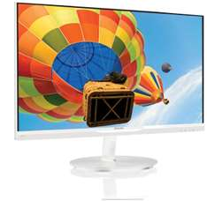 Philips 234E5QHAW IPS monitor voor € 149,- @ Coolblue