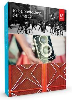 Adobe Photoshop Elements 12 (PC/Mac) (UK) voor € 43,83 @ Amazon.co.uk